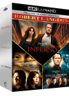 Robert Langdon - Da Vinci Code + Anges & démons + Inferno (4K Ultra HD + Blu-ray) - 4K UHD
