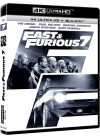 Fast & Furious 7 (4K Ultra HD + Blu-ray + Copie Digitale UltraViolet) - Blu-ray 4K