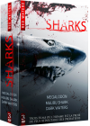 Sharks : Mégalodon + Malibu Shark Attack + Dark Waters (Pack) - DVD