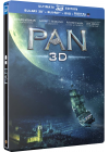 Pan (SteelBook Ultimate Édition - Blu-ray 3D + Blu-ray + DVD + Copie digitale) - Blu-ray 3D