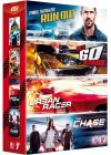 Course-poursuite : Urban Racer + Run Out + Gone in 60 Seconds - L'original + The Chase (Pack) - DVD
