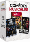 Comédies musicales - Coffret 3 films : West Side Story + Hair + New York, New York (Pack) - DVD