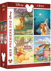 Mes premiers DVD Disney - Bambi + La Belle et le Clochard + Winnie l'ourson + Dumbo (Pack) - DVD
