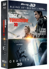 Edge of Tomorrow 3D + Gravity 3D (Combo Blu-ray 3D + Blu-ray + Copie digitale) - Blu-ray 3D