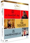 "Coffret ""Festival de Cannes"" : A Beautiful Day + The Square + Mademoiselle (Pack) - Blu-ray"