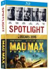 Coffret Oscars 2016 : Spotlight + Mad Max Fury Road (Pack) - Blu-ray