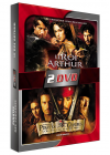 Le Roi Arthur + Pirates des Caraïbes, la malédiction du Black Pearl - DVD