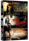 Thriller - Coffret 3 films : Psychopath + Peur sur Internet + Engrenage fatal (Pack) - DVD