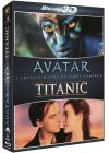 2 chefs-d'oeuvre de James Cameron : Avatar + Titanic (Pack) - Blu-ray 3D