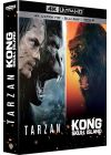 Kong : Skull Island + Tarzan (4K Ultra HD + Blu-ray + Digital HD) - Blu-ray 4K