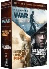 Coffret Guerre : Rescue Under Fire + Memories of War + Du sang et des larmes (Pack) - DVD