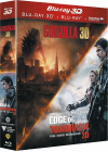 Edge of Tomorrow + Godzilla (Combo Blu-ray 3D + Blu-ray 2D) - Blu-ray 3D