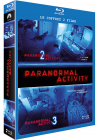 Coffret Paranormal Activity - Paranormal Activity 2 + Paranormal Activity 3 (Pack) - Blu-ray