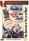 Une Question de vie ou de mort - DVD