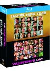 Happy New Year + Valentine's Day - Blu-ray