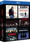 Coffret Welcome To Boston : Strictly Criminal + Spotlight + The Town + Mystic River (Pack) - Blu-ray