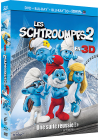 Les Schtroumpfs 2 (Combo Blu-ray 3D + Blu-ray + DVD + Copie digitale) - Blu-ray 3D