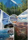 Trio Grands espaces : Yosemite + Yellowstone + Le grand canyon (Pack) - DVD