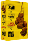 Creed + The Fighter + La rage au ventre + Match retour (Pack) - DVD