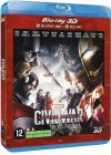 Captain America : Civil War (Combo Blu-ray 3D + Blu-ray 2D) - Blu-ray 3D