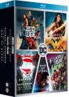 DC Universe - L'intégrale des 5 films : Justice League + Wonder Woman + Suicide Squad + Batman v Superman : L'aube de la justice + Man of Steel (Pack) - Blu-ray