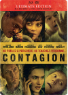 Contagion (Ultimate Edition boîtier SteelBook - Combo Blu-ray + DVD) - Blu-ray