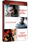 Russell Crowe - 3 grands films : Robin des Bois + Gladiator + Master and Commander (Édition Collector boîtier SteelBook) - DVD