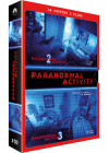 Coffret Paranormal Activity - Paranormal Activity 2 + Paranormal Activity 3 (Pack) - DVD