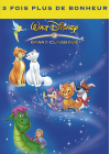 Les Aristochats + Oliver & Compagnie + Peter & Elliott le dragon - DVD