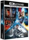 Science Fiction 4K - Coffret : Star Trek Sans limites + Warcraft : le commencement + Oblivion (4K Ultra HD + Blu-ray) - Blu-ray 4K