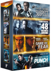 Stars de l'action : Game of Fear + 48 heures chrono + Suspect + Welcome to the Punch (Pack) - DVD