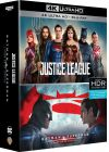 DC Universe - Coffret 2 films : Justice League + Batman v Superman : L'aube de la justice (4K Ultra HD + Blu-ray) - 4K UHD