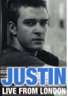 Justin Timberlake - Live from London (Édition Digipack) - DVD