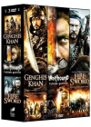 3 films épiques - Vol. 2 : Genghis Khan + Wolfhound + Fire and Sword (Pack) - DVD
