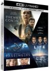 Coffret : Premier contact + Passengers + Life (4K Ultra HD + Blu-ray + Digital UltraViolet) - Blu-ray 4K