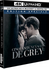 Cinquante nuances de Grey (4K Ultra HD + Blu-ray + Digital HD - Édition spéciale - Version non censurée + version cinéma) - Blu-ray 4K