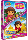Dora l'exploratrice - Le cadeau surprise de Puppy + Go Diego! - Diego expédition pyramides (Pack) - DVD