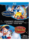 Blanche Neige et les sept nains + Pinocchio (Pack) - Blu-ray