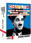 Chaplin - Le dictateur + Les temps modernes + La ruée vers l'or + Le cirque + The Kid (Pack) - Blu-ray