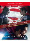 Collection 2 films : Batman v Superman : L'aube de la justice + Man of Steel (Combo Blu-ray 3D + Blu-ray 2D) - Blu-ray 3D
