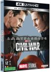 Captain America : Civil War (4K Ultra HD + Blu-ray) - 4K UHD - Sortie le 24 avril 2019