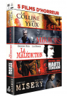 5 films d'horreur : La colline à des yeux + Mirrors + La malédiction + Haute tension + Misery (Pack) - DVD