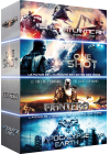 SF Robots : Atlantic Rim + One Shot + Mantera + Apocalypse Earth (Pack) - DVD