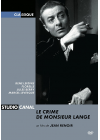 Le Crime de Monsieur Lange - DVD