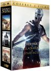 3 hommes contre un empire - Coffret : Ben-Hur + Gladiator + Spartacus (Pack) - DVD