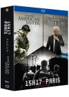 Clint Eastwood - Portraits de Héros - Le 15h17 pour Paris + Sully + American Sniper (Pack) - Blu-ray