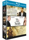 Coffret Brad Pitt - L'assassinat de Jesse James par le lâche Robert Ford + Mr. & Mrs. Smith + Troie (Pack) - Blu-ray